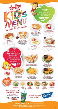 Healthy breakfast ideas for picky eaters food truck near me location Menu Board Design, Food Menu Design, Kids Restaurants, Web Design, Design Ideas, Graphic Design, Food Menu Template, Kids Menu, Cafe Menu