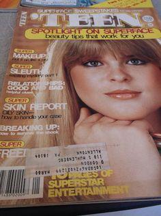 Vtg Young N Loving TEEN Magazine January 80 Fashion 70s 80s Ads Beauty Mag JAN