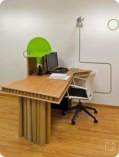 Proyecto para oficina de diseño sostenible.