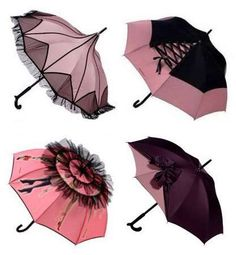 Jean Paul Gaultier brollies.