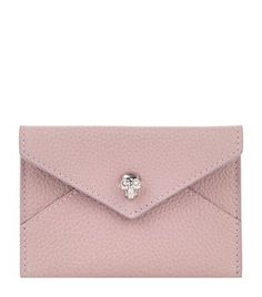 Alexander McQueen Skull Envelope Card Holder available to buy at Harrods. Shop women's designer accessories online and earn Rewards points.