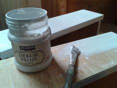 Bútorfestés Dekor Paint festékkel Furniture Makeover, Chalk Paint, Diy And Crafts, Mason Jars, Home And Garden, Painting, Inspiration, Vintage, Creative