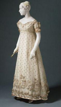 philadelphia museum of art dress 1820 | Evening Dress 1817 The Philadelphia Museum of Art