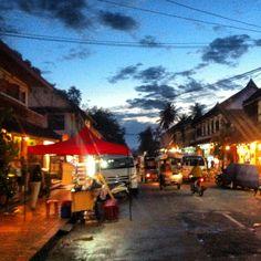 Evening in Luang Prabang