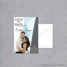 Save the Date Magnets  Wedding Save the by SilverCloudDelights