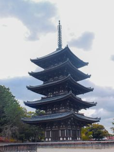Kofuku-ji temple in Nara - Japan