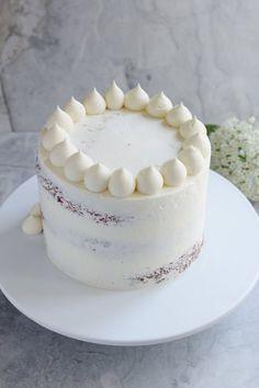 Lemon, Elderflower and White Chocolate Cake — Hannah Bakes