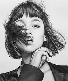 Journey Into My Mind. Stuff I do. Pencil Drawings Of Flowers, Realistic Pencil Drawings, Amazing Drawings, Pencil Art Drawings, Art Drawings Sketches, Hard Drawings, Pencil Sketching, Art Illustrations, Pencil Sketch Portrait