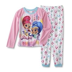 Nickelodeon Shimmer & Shine Pajama Top & Pants