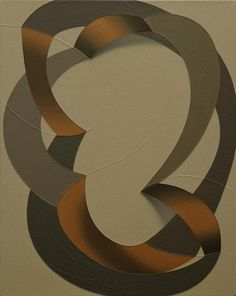 "Tomma Abts - Folme, 2003. Acrylic and oil on canvas, 19 x 15"", 48 x 38 cm."
