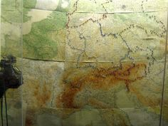 Russian Front Maps, Churchill's War Rooms, London