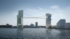 Copenhagen approves plans for a 65m high walkway to be built between two towers | Major Projects | Construction Global