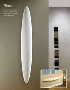 The Blade radiator by The Radiator Company - available at Graham Modern Radiators, Company Brochure, Graham, Blade, Design, Contemporary Radiators, Corporate Brochure
