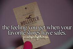 Charlotte Russe, Love Culture, Rue21, Forever21, and Wet Seal. The rest will come to me.