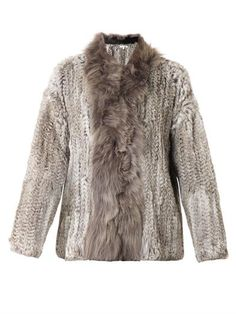 Knitted fur jacket | Elizabeth and James | MATCHESFASHION.COM