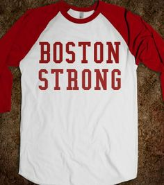 BOSTON STRONG - glamfoxx.com - Skreened T-shirts, Organic Shirts, Hoodies, Kids Tees, Baby One-Pieces and Tote Bags