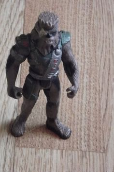 Vintage Star Wars Figure, Vintage Shadows of the Empire, Bounty Hunter - Chewbacca, Figure, (1996), Hasbro  - RARE by BunkysVintageCrafts on Etsy
