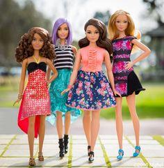 Curvilínea, 'chaparrita', morena o rubia: este es el nuevo cuerpo de Barbie