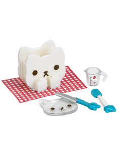 Nyanko-Kitchen-Cat-Set-Cultery-Holder