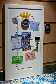 Disney Fantasy - Pepe's Stateroom Door 5148 ½ and Voicemail