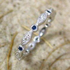 Original Gatsby Ring – Art Deco, engagement, custom made-to-order, anniversary…