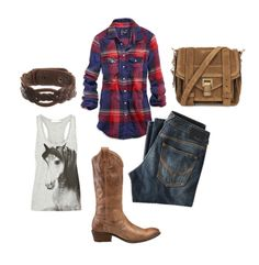 this whole outfit....maybe minus the horse tank