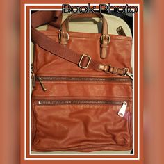 "5x HOST PICK FOSSIL EXPLORER LEATHER TOTE PURSE 5x HOST PICK9/12/2015;9/26/2015;3/20/16 HOST:@fash137 ANGEL??@wendygonzalez ""STATEMENT STYLE PARTY""/""Classic & Cool @monicamunoz ??-Essential Style Party. @tanyakara ?6-21-16 Casual Cool Party Host: @trudyhanks ?? FOSSIL EXPLORER LEATHER TOTE PURSE  DOUBLE HANDLE WITH 5"" DROP;DETACHABLE SHOULDER STRAP 22"" STRAP.TOP ZIPPER CLOSURE;BRASSTONE HARDWARE 2 FRONT  ZIPPER POCKETSSIGNATURE PLAQUE AT FRONT;LOCK & KEY CHARM;INTERIOR FEATURES:ZIP&4 SLIP…"