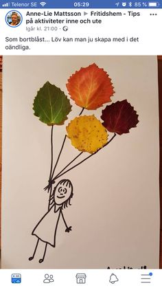 Lantcharm: Heute Laub The post Lantcharm: Heute Laub appeared first on DIY Projekte. Autumn Leaves Craft, Autumn Crafts, Fall Crafts For Kids, Autumn Art, Nature Crafts, Thanksgiving Crafts, Toddler Crafts, Preschool Crafts, Diy For Kids