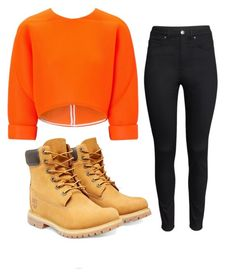 fly by stay-true-loyal on Polyvore featuring polyvore fashion style Maticevski H&M Timberland women's clothing women's fashion women female woman misses juniors