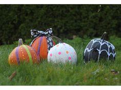 Halloween Easy DIY no-carve pumpkin decorating ideas for kids & Pumpkin Decorating | Halloween | Pinterest | Pumpkin decorating and ...