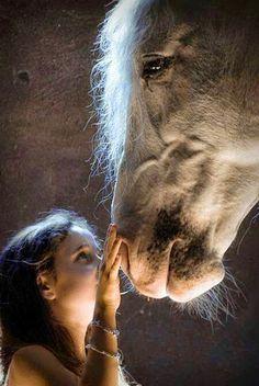 My friend #amazing #friendship #cute #horse