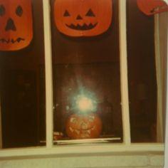 Halloween at our house circa 1979