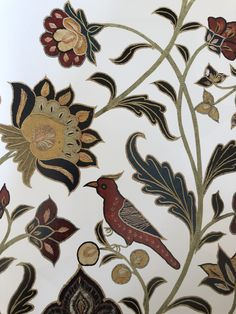 Iran, Persian, Florals, Rooster, Textiles, Crafts, Animals, Floral, Manualidades