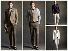 Ultra dapper film fashion!   Great Gatsby style influence with Brooks Brothers collection!   Like or Not really ?!