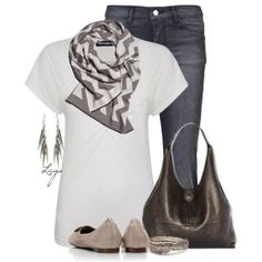 """Chevron Scarf"" by lagu on Polyvore by juliet.flores"