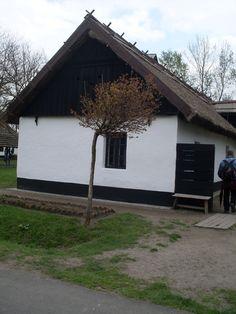 A csongrádi halász háza (Ópusztaszer, skanzen)