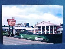 Postcard Pa Irwin Lincoln Highway Route 30 Jacktown Hotel Vintage