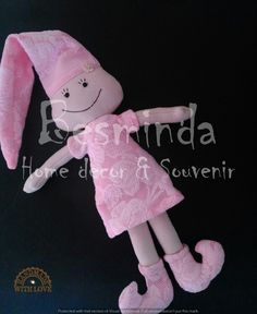 Dream Elf, For children, Night, Pink, Handmade