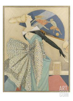 Vogue - April 1922 Regular Giclee Print by George Wolfe Plank at Art.com