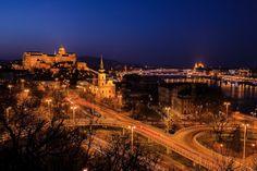 Budapest Blue Hour Cityscape :: photo by Riccsi (Richárd Sárközi) Blue Hour, Budapest, Paris Skyline, Photos, Travel, Pictures, Voyage, Trips, Viajes