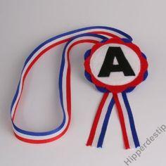 Medaille zwemdiploma A afzwemmen zwemles rozet door Hipperdestip #Kunstzinnig