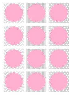 girl baby shower favor tags                                                                                                                                                                                 More