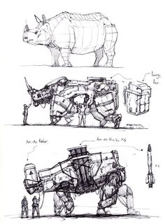 ArtStation - animal robotic machine, longque Chen - - piercings home Arte Robot, Robot Art, Animal Robot, Character Concept, Character Art, Robot Sketch, Robots Drawing, Industrial Design Sketch, Robot Concept Art