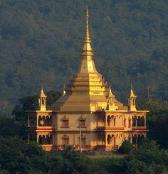 Luang Prabang Vipassana temple - Laos                                                                                                                                                                                 More