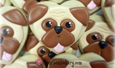 How to Decorate a Pug Cookie