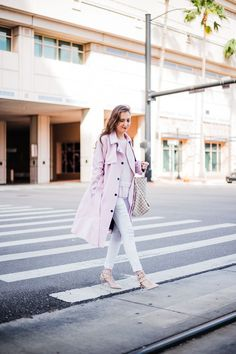 23854d149ff How to wear pastels in fall and winter. Louis Vuitton ...