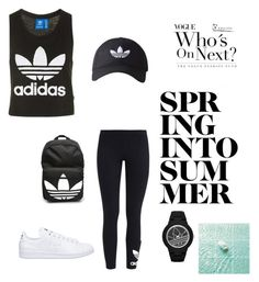 """""""Untitled #117"""" by rekac on Polyvore featuring adidas Originals, adidas and Topshop"""