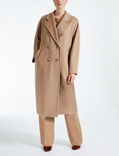 Max Mara MADAME camel: Wool and cashmere coat.