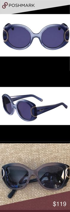e5bc47092a97 Salvatore Ferragamo Women's Sunglasses Salvatore Ferragamo women's  sunglasses in good condition. Round frame. Color