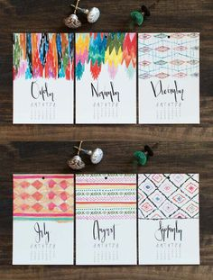 Hats off to the eight Etsy sellers featured in @designsponge's calendar roundup. #etsy